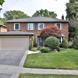Front at 5 Carnwath Crescent, St. Andrew-Windfields, Toronto