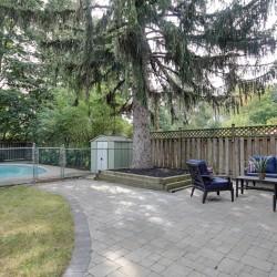 Backyard at 165 Three Valleys Drive, Parkwoods-Donalda, Toronto