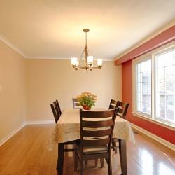 Dining Room at 166 Underhill Drive, Parkwoods-Donalda, Toronto