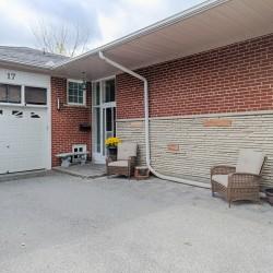 Front Entrance at 17 Royal Doulton Drive, Parkwoods-Donalda, Toronto