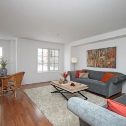 Living Room at 168 Dallimore Circle, Banbury-Don Mills, Toronto