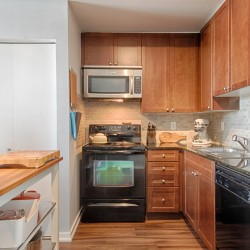 Kitchen at 505 - 30 Canterbury Place, Willowdale West, Toronto