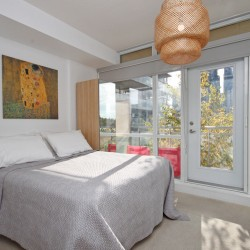 Master bedroom at 505 - 30 Canterbury Place, Willowdale West, Toronto