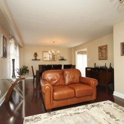 Living Room at 14 Gretman Crescent, Aileen-Willowbrook, Markham