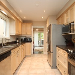 Kitchen at 14 Gretman Crescent, Aileen-Willowbrook, Markham