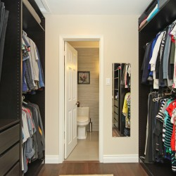 Master Bedroom Walk-in Closet at 14 Gretman Crescent, Aileen-Willowbrook, Markham