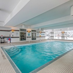Swimming Pool at 309 - 18 Concorde Place, Toronto