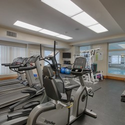 Exercise Room at 309 - 18 Concorde Place, Toronto