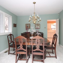 Dining Room at 137 Underhill Drive, Parkwoods-Donalda, Toronto