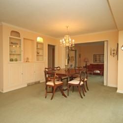 Dining Room at 38 Crossburn Drive, Banbury-Don Mills, Toronto
