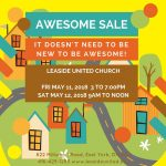 The Awesome Sale is back at Leaside United!