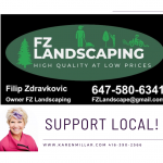 Support local Don Mills lawn care