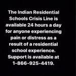 Residential School Helpline